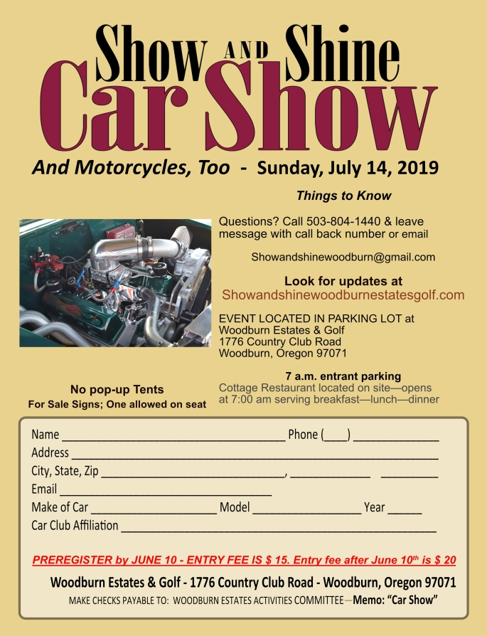 show and shine registration 2019 001