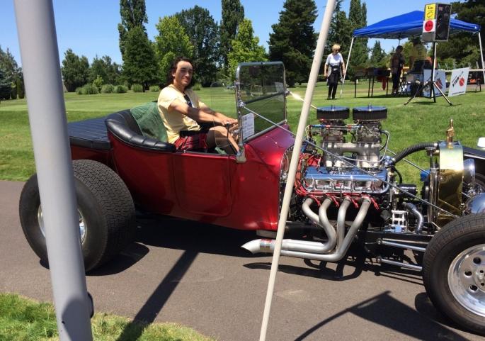 2019 - Kyle Lockhart in Jim Hoover car FIVE )