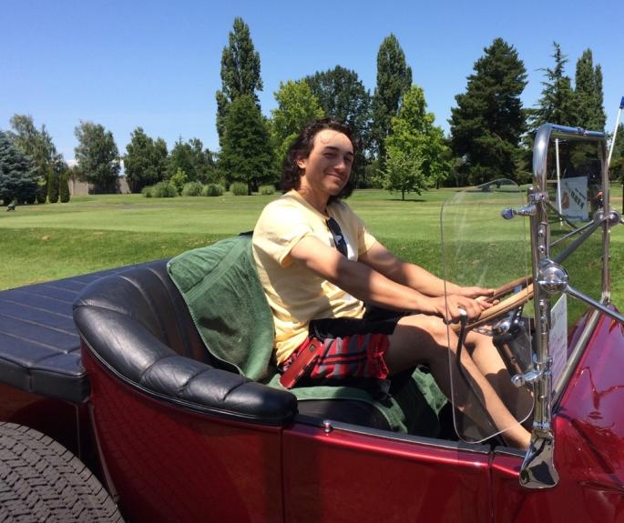 2019 - Kyle Lockhart in Jim Hoover car THREE