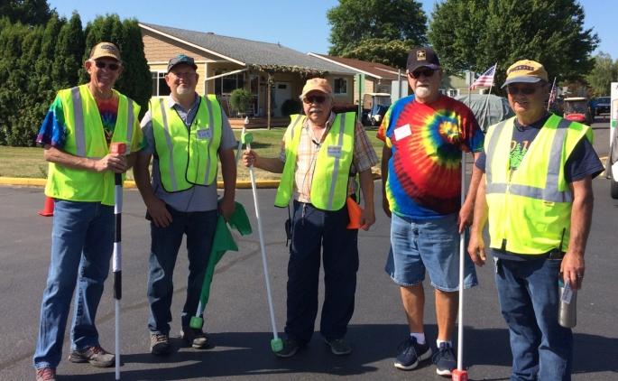 2019 - Volunteers - Bob Burden - Rick K. - Dennis Martin - KEvin Burnside - Paul Sharp TWO July 14